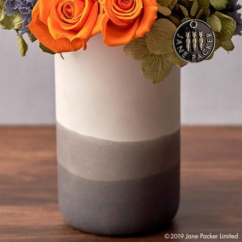JANE PACKER プリザーブドアレンジメント「ビターオレンジ」