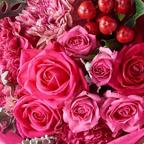 花束「11月の旬の花 ムートン」