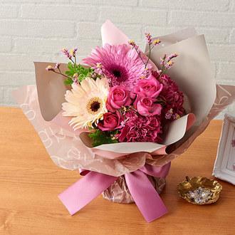 そのまま飾れるブーケ「11月に贈る花言葉」