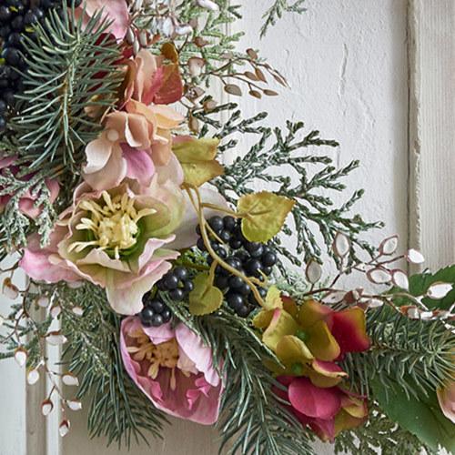 クリスマス アーティフィシャルリース「テレッツァ」