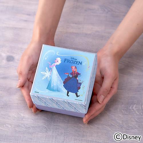 ディズニー クリスマス プリザーブド&アーティフィシャルアレンジメント「オルゴールフラワー(FROZEN)」