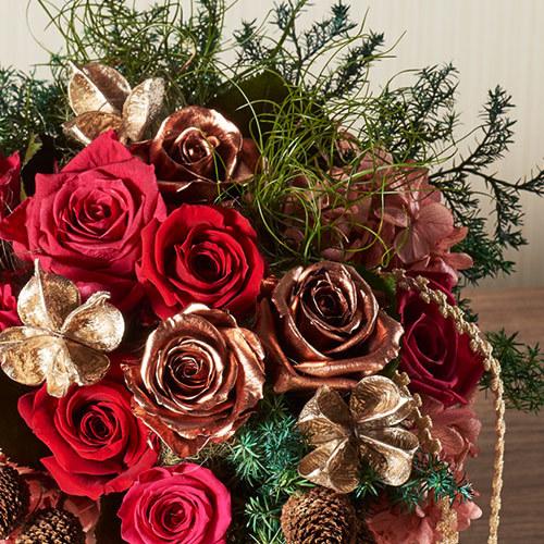 クリスマス プリザーブドアレンジメント「ソンレイール」