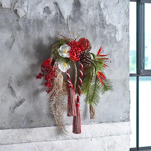 お正月 しめ飾り「雅の宴」