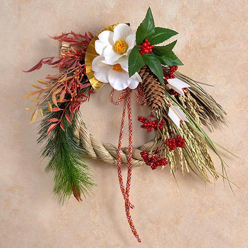 お正月 しめ飾り「松華」
