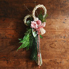 迎春お飾り「花しめ飾り」