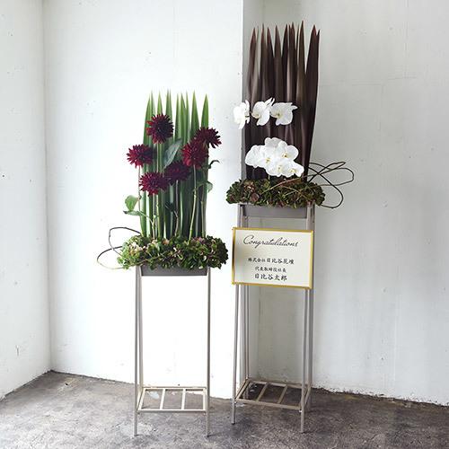 【日比谷花壇】福井デザイナー・デザインスタンド