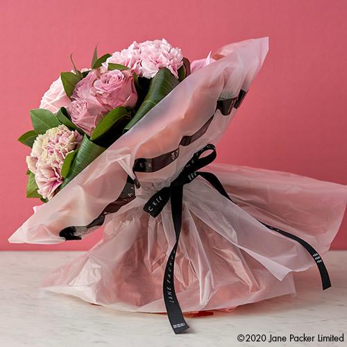 母の日 JANE PACKER 花束「ヴィクトリー ピンク」
