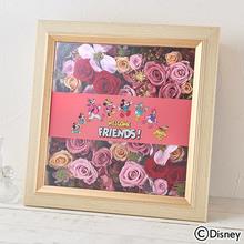母の日 ディズニー フラワーフレームアート「ミッキー&フレンズ アンベリール」