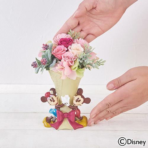 母の日 ディズニー プリザーブド&アーティフィシャルアレンジメント「ラブリーブーケ」