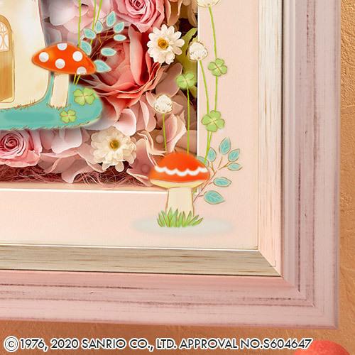 サンリオキャラクター フラワーフレームアート「ハッピー パーティ」