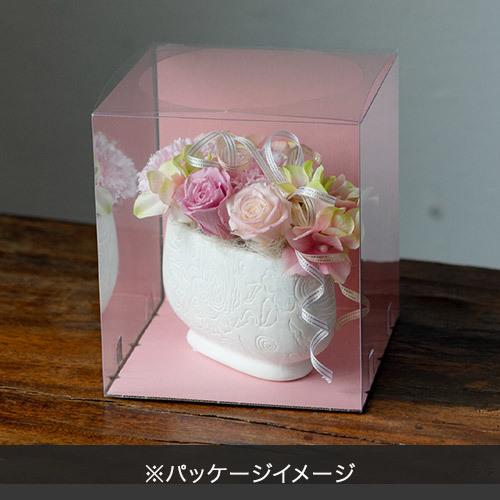 プリザーブド&アーティフィシャルアレンジメント「ブルーム」クリアケース付