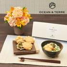 父の日 OCEAN&TERRE「お茶漬け最中セット」とアレンジメントのセット