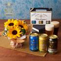 父の日THE軽井沢ビール「クラフトビール 3種飲み比べ」とそのまま飾れるブーケのセット