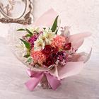 そのまま飾れるブーケ「6月に贈る花言葉」