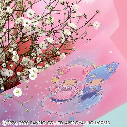 サンリオキャラクター そのまま飾れるブーケ 「リトルツインスターズ(ミルキーウェイ)」【沖縄届不可】