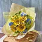 7月の旬の花 花束「オーブリオン」