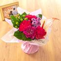 【お供え用】O・SO・NA・E flower「8月のそのまま飾れるブーケ」