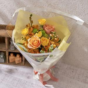8月の旬の花 花束「ムース」の商品画像