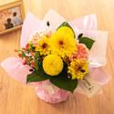 【お供え用】O・SO・NA・E flower 「9月のそのまま飾れるブーケ」