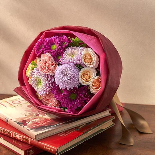 9月の旬の花 花束「ムスカ」