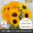 【バイヤー厳選】季節のお花・おまかせミックス花瓶セット