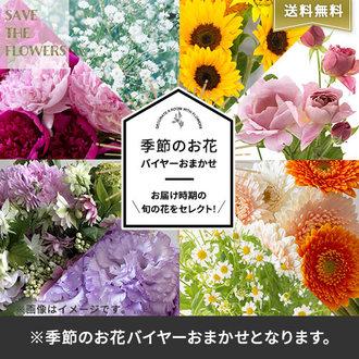 【バイヤー厳選】季節のお花・おまかせミックス