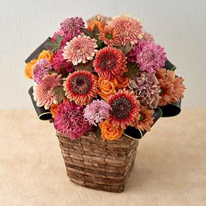 10月の旬の花 アレンジメント「メランジ」の商品画像