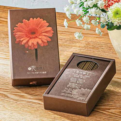 【お供え用】O・SO・NA・E flower 線香「花は咲く」(寄付付き)とアレンジメントのセット