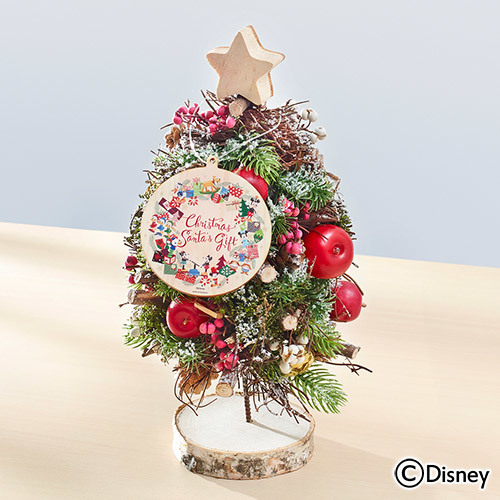 【日比谷花壇】ディズニー クリスマス アーティフィシャルツリー「サンタズギフト(ミッキー&フレンズ)」
