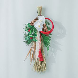 お正月 しめ飾り「穂華(ほばな)」