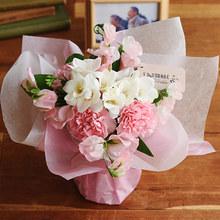 【お供え用】 O・SO・NA・E flower 「1月のそのまま飾れるブーケ」