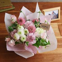 【お供え用】 O・SO・NA・E flower 「1月のオリジナルアレンジメント」