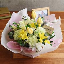 【お供え用】 O・SO・NA・E flower 「2月のオリジナルアレンジメント」