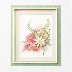 母の日 押し花フレームアート 「Solana-ソラナ-」の商品画像