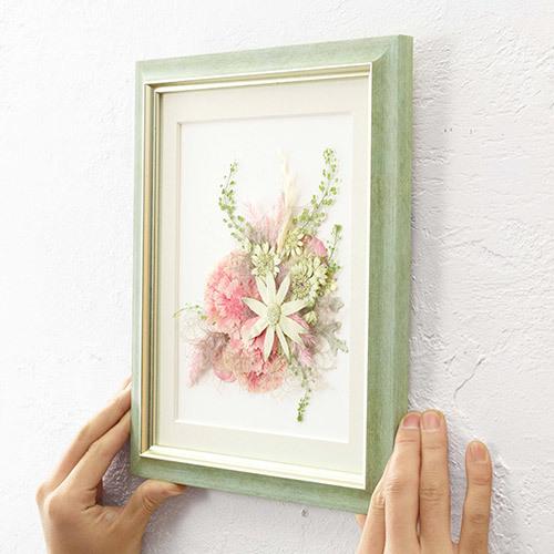 母の日 押し花フレームアート 「Solana-ソラナ-」
