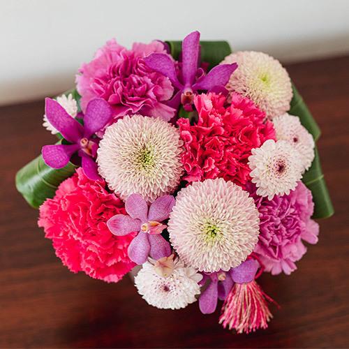 母の日 アレンジメント「花てまり」