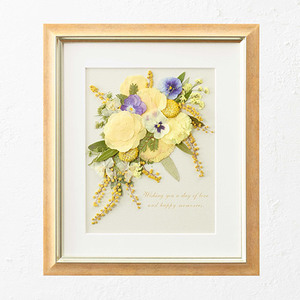 母の日 押し花フレームアート 「Joie-ジョワ-」の商品画像
