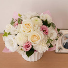 【お供え用】O・SO・NA・E flower「亡き母に贈るオリジナルアレンジメント」