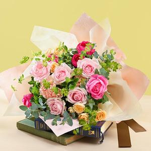 3月の旬の花 花束「ラヴィサン」