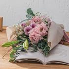【お供え用】 O・SO・NA・E flower 「季節の花束」