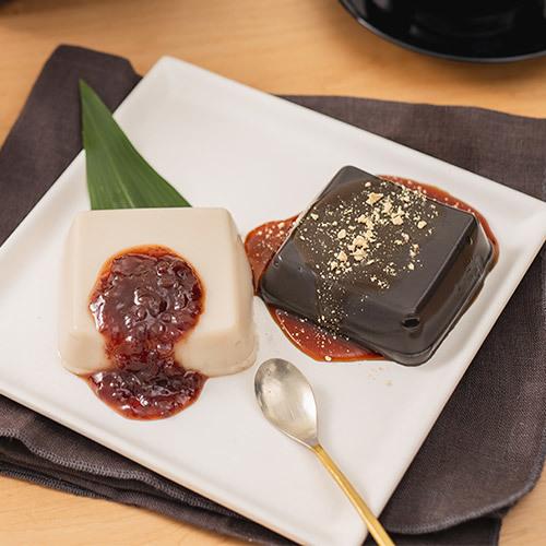 父の日 永平寺「胡麻豆腐のすいーつ4個入り」とアレンジメントのセット
