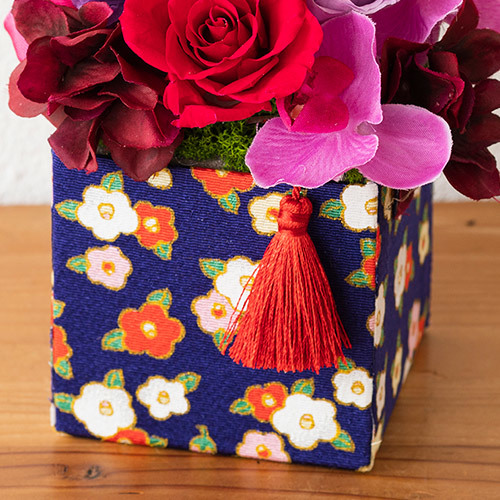 プリザーブド&アーティフィシャルアレンジメント「咲花(さいか)」