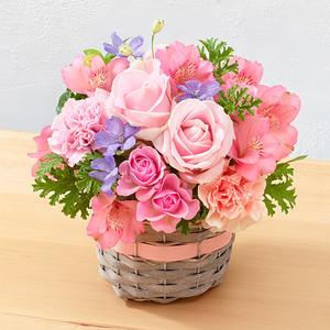 4月の旬の花 アレンジメント「カンシオン」の商品画像