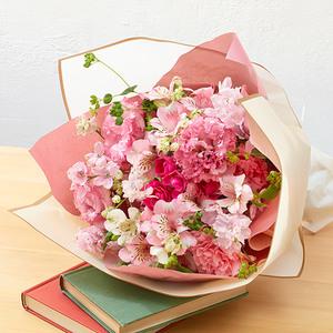 4月の旬の花 花束「ブリッサプリマベーラ」の商品画像