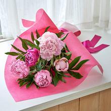 母の日 花束「芍薬(5本)」