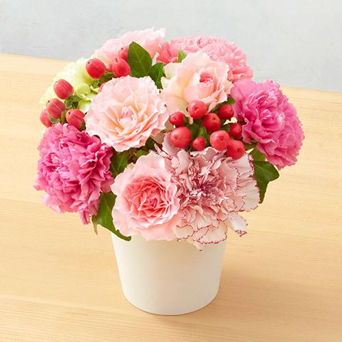 5月の旬の花 アレンジメント「デビュドゥレテ」