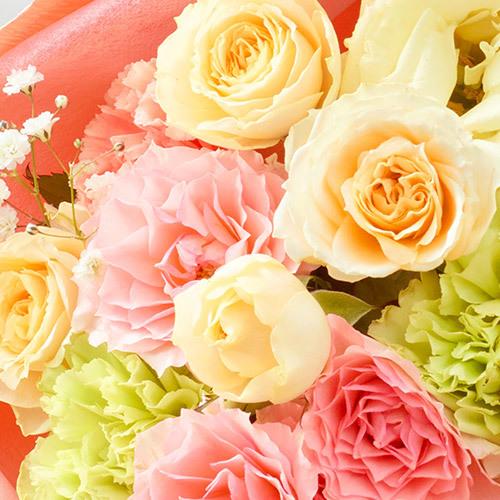 5月の旬の花 花束「ヴェスティート」