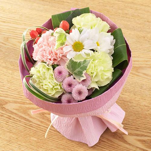 【お供え用】 O・SO・NA・E flower 「5月のそのまま飾れるブーケ」