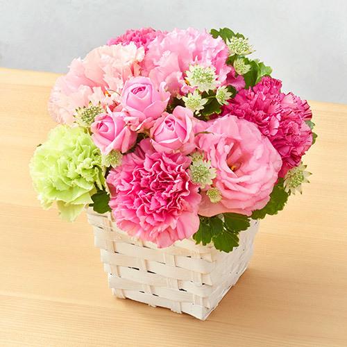 6月の旬の花 アレンジメント「ローズカリーノ」