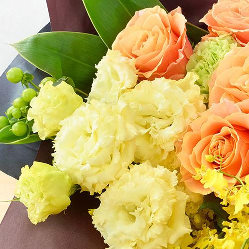 6月の旬の花 花束「アルモニーア」